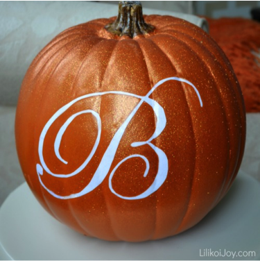 Stenciled Pumpkin #2